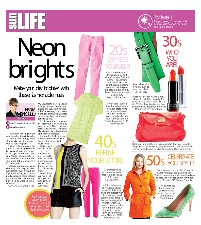 HOW TO WEAR IT – Neon