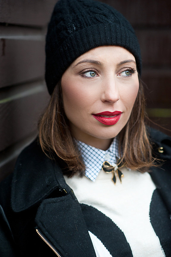 Get the look – BOLD RED LIP!