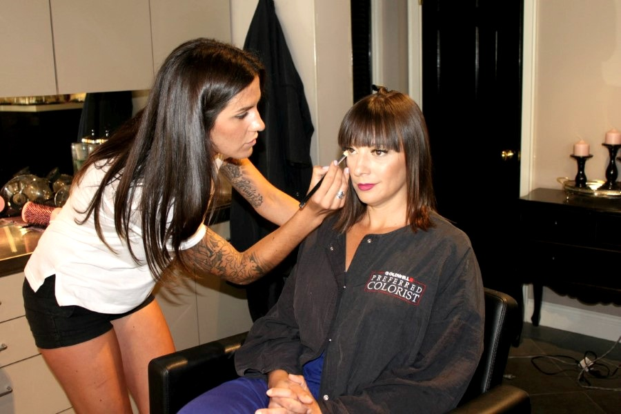 Full Circle Fashion Event, Malene Grotrian, Nadia Albano Style Inc, OVECARE, Madeline BrownMakeup Artist