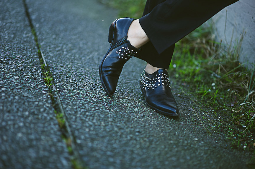 Nadia Albano, Studded Shoes, Daniella Guzzo Photography