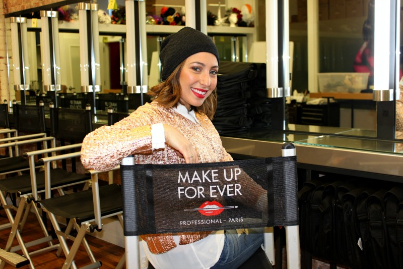 Nadia Albano, Make Up For Ever Academy, New York