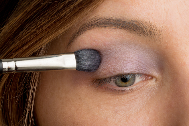 Nadia Albano, Makeup tutorial, TruTorial, Make Up For Ever, MAC, Violet, Mint Brushes, Union Photographers
