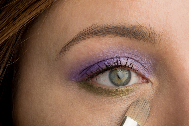 Nadia Albano, Makeup tutorial, TruTorial, Make Up For Ever, MAC, Laura Mercier, Violet, Mint Brushes, Union Photographers