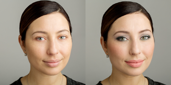 Nadia Albano, Makeup Tutorial, TruTorialTM, Before and After, Union Photographers