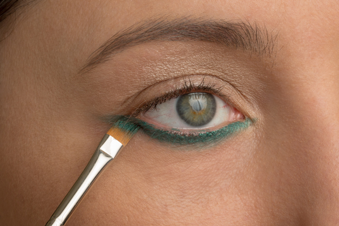 Nadia Albano, Mint Brushes, MAC Kohl Pencil in Minted, Union Photographers, Makeup Tutorial