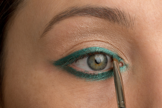 Nadia Albano, Mint Brushes, MAC Kohl Pencil in Minted, Union Photographers, Makeup