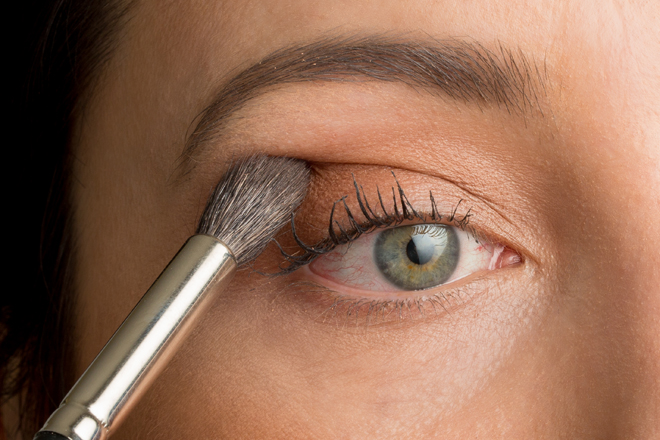 Nadia Albano, Makeup Tutorial, Day to Evening Makeup, MAC Eye Shadow, Mint Brushes,  Union Photographers