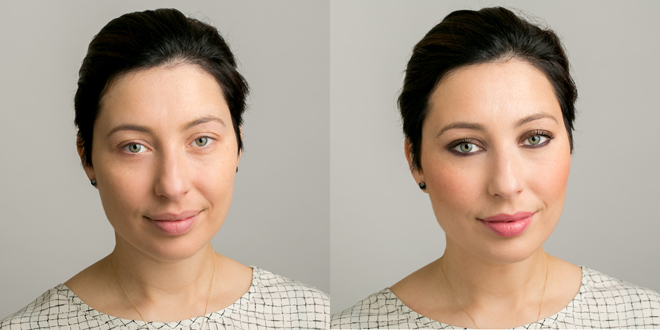 Nadia Albano, Before and After, Makeup Tutorial, Laura Mercier, Union Photographers