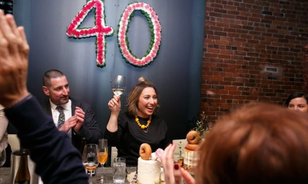 Nadia's 40th at L'Abattoir in Gastown…
