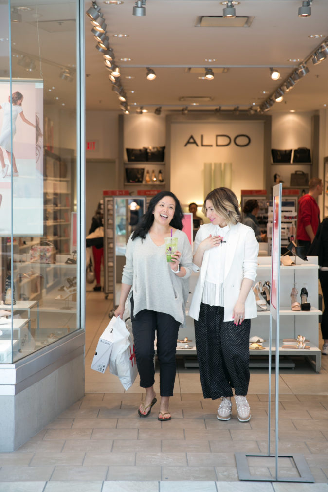 Lougheed Look, Makeover, Before and After, Reitmans, H&M, Aldo Shoes, Chatters Salon, Hudson's Bay, Clinique, Nadia Albano, Daniela Ciuffa Photography