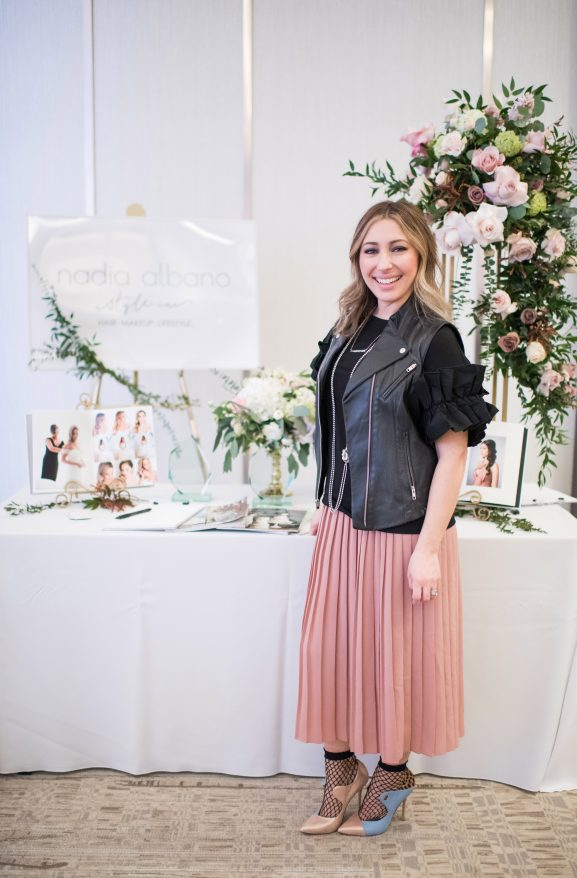 Fleur Vancouver, Aly Armstrong, Nadia Albano, Nadia Albano Style Inc, Kaitlyn Bristowe, Wedding Show, Brooklyn Photography
