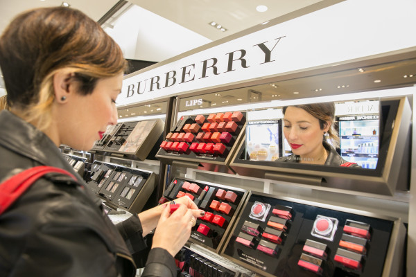 Burberry Beauty at Nordstrom Vancouver!