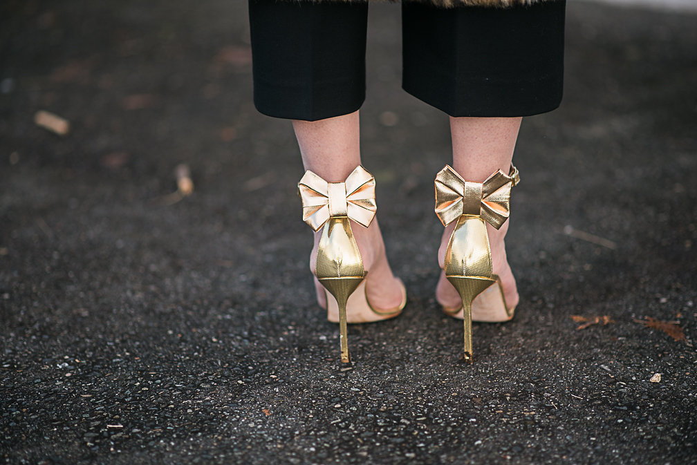 Nadia Albano, Gold Shoes, Manolo Blahnik, Daniella Guzzo Photography
