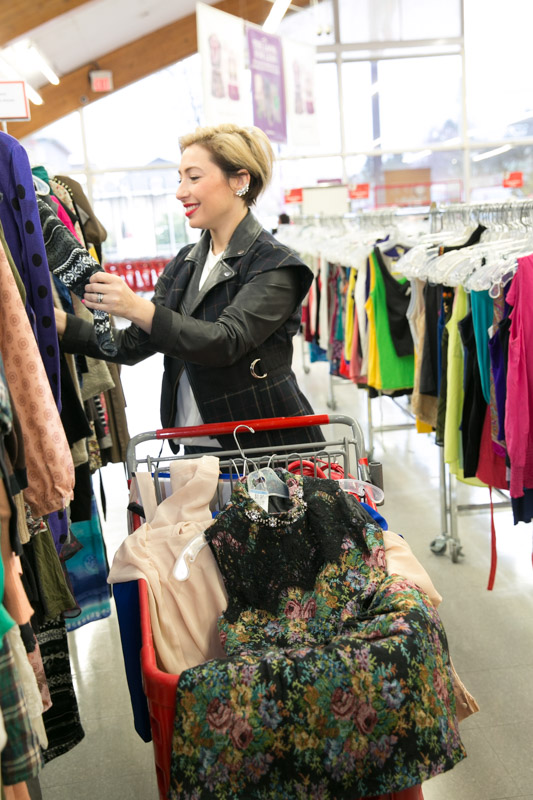 Nadia Albano, Value Village, Eco Fashion Week, Daniela Ciuffa Photography