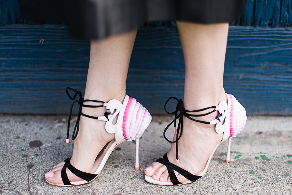 Nadia Albano, Sophia Webster, Flamigo Frill Sandal, The Hudson`s Bay, Daniella Guzzo Photography
