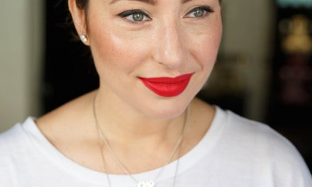 MAKEUP TUTORIAL – Classic cat-eye and bold red lip combo.
